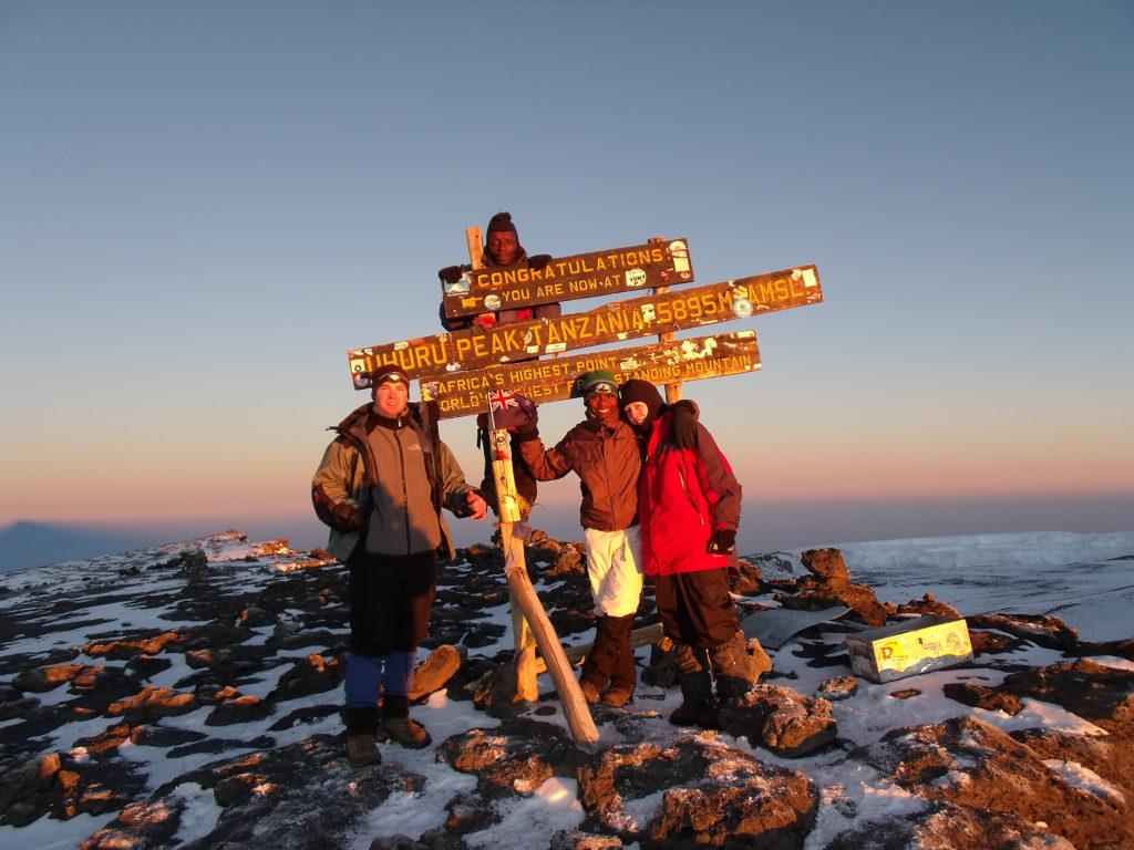 Kilimanjaro climb summit
