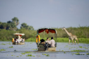 selous game reserve boat tour